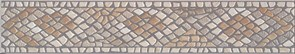 AD/B260/SG1531 Бордюр Велия серый 40,2х7,7х8