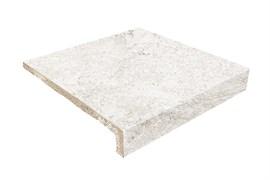 310x317x40 Peldano Recto Evo White Stone