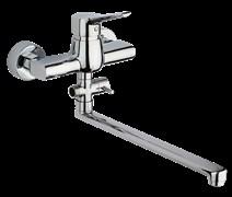 Смеситель хром Paini Messina MECR119KM для ванны