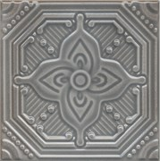SSA001 Декор Салинас серый 15х15