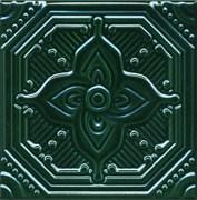 SSA003 Декор Салинас зеленый 15х15
