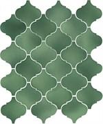 65008 Арабески Майолика зеленый 26х30