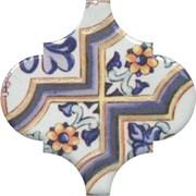 OP/A161/65000 Декор Арабески Майолика орнамент 6,5х6,5х7