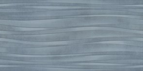 11143R Маритимос голубой структура обрезной 30х60х9
