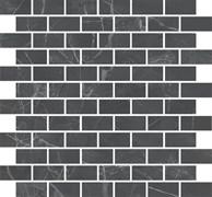 MM13106 Декор Буонарроти серый темный мозаичный 32x30x11