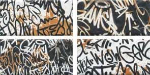 OP/A210/4x/19060 Панно Граффити, панно из 4-х частей 39,6x20x8