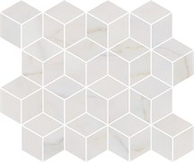 T017/14003 Декор Греппи белый мозаичный 45x37,5x10