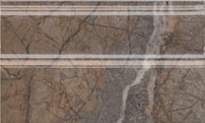 FMB023R Плинтус Театро коричневый обрезной 25x15x15