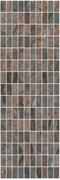 MM12143 Декор Театро коричневый мозаичный 25x75x9