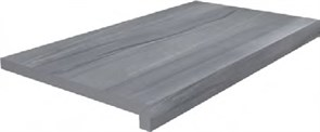 DL600400R20/GLF Ступень клеёная тип L Роверелла серый 34x60x20
