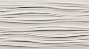 3D White Curvy Matt/3Д Вайт Курви Матт 30,5x56 600010001987